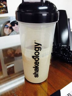#shakeology Healthiest meal of the day! My current favorite is this PBJ concoction. Yum!