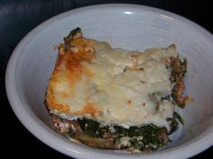 No Noodle Spinach Meat Lasagna - Low carb recipes suitable for all low carb diets - Sugar-Free Low Carb Recipes