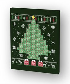 """Discover Chemist Tree Canvas Print   24""""X30"""" T-Shirt, a custom product made just for you by Teespring. With world-class production and customer support, your satisfaction is guaranteed. - Ho Ho Ho"""