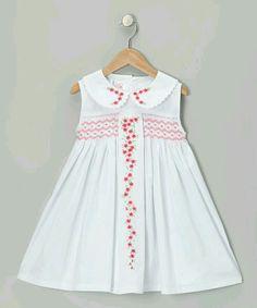Vestido bebe bordado