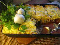 Pásztorpite – gombás | PaleoVital Plant Paradox, Cornbread, Breakfast, Ethnic Recipes, Ted, Millet Bread, Morning Coffee, Corn Bread