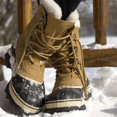 I'm so in love with my Sorel Caribou snow boots. I can't wait until it's cold enough to wear them again <3