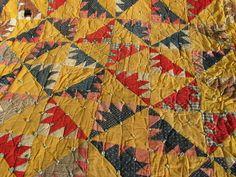 Laurel Leaf Farm, old quilt from a Wisconsin farm estate