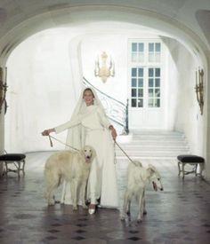 1966 Baroness Von Thyssen dress in Nina Ricci