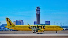 Spirit Airlines Airbus A321-231 N668NK at Las Vegas-McCarran, June 2016. (Photo via Flickr: Tomás Del Coro)