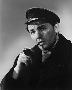 John Garfield - The Sea Wolf Sea Captain, Captain Hat, John Garfield, Oceans Of The World, Marines, Wolf, Cinema, Movie Theater, Movies