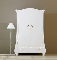 Lemari Pakaian Mewah Model Konsul 2 Pintu Terbaru. Furniture Jepara - Furniture Minimalis Jepara