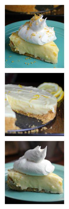 Luscious Lemon Sour Cream Pie! Collage