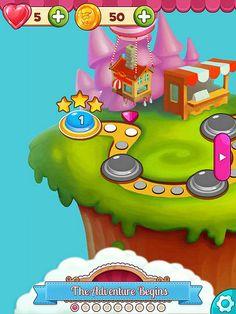 Cookie Jam Level Selection: screenshots, UI