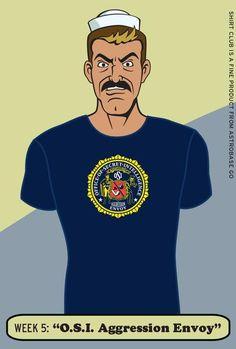 12a23b37b14a Venture Bros Shirt Club No. 4