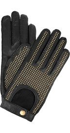 Burberry Accessories Studded leather gloves