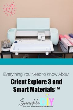 Want to learn more about Cricut Explore 3? This blog post is for you! I'm sharing everything you need to know about Cricut Explore 3 and Smart Materials! #ad #CricutMade Smart Materials, Cricut Explore Air, Fun Crafts, Storage Chest, Need To Know, Card Stock, Diy Projects, Learning, Group