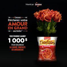 Concours Déclarez votre amour en grand avec Doritos®