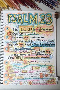 Scripture Lettering, Scripture Art, Bible Art, Bible Scriptures, Bible Study Journal, Art Journal Pages, Art Journaling, Scripture Journal, Sermon Notes
