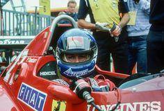 Patrick Tambay, Ferrari 126C3, 1983 German GP, Hockenheimring