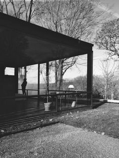 Glass House, New Canaan CT   Philip Johnson