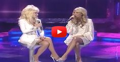 """Listen As Dolly Parton and Carrie Underwood Perform 'I Will Always Love You' Carrie Underwood joins Dolly Parton to sing her hit """"I Will Always Love You"""" Good Music, My Music, God Vine, Best Video Ever, Best Songs, Awesome Songs, Country Music Singers, Dolly Parton, Always Love You"""