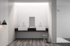baño madera y blanco - Buscar con Google