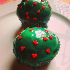 Cupcakes de Natal e participação no passatempo da Sidul