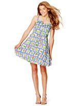 Spring 2015 Johnnieb Greta dress (seed packet print!)