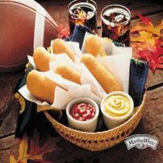 Old-Fashioned Corn Dogs from Martha White®