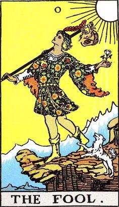 The fool - tarot card