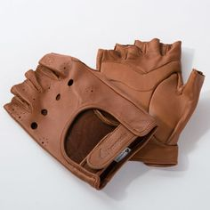 Brancale's Leather Cycling Gloves