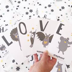 Each set is printed on print coat cardboard with a beautiful matte lamination on both sides. Each card measures approximately x The corners are rounded and super child-friendly.