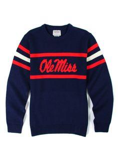 Mississippi Crewneck Stadium Sweater