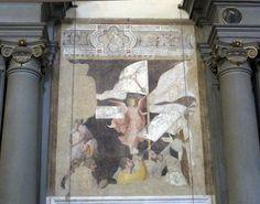 San marco, fi, affreschi lungo la navata, antonio veneziano1380-1420 ca. 03 - Category:San Marco (Florence) - Church interior - Wikimedia Commons
