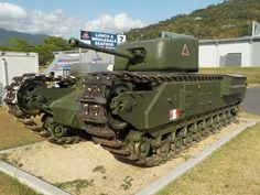Australian Armour and Artillery Museum, Cairns, Qld. Armored Fighting Vehicle, Ww2 Tanks, Military Weapons, Military Equipment, War Machine, Military History, Churchill, Matilda, Military Vehicles