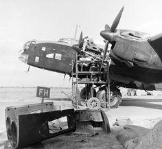 "bmashina: "" Preparation for combat mission British bomber Handley Page Halifax "" Ww2 Aircraft, Military Aircraft, Handley Page Halifax, Ww2 Planes, Battle Of Britain, Nose Art, Royal Air Force, Luftwaffe, Battleship"
