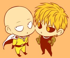 Saitama and Genos - One Punch Man