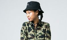 After camoflauge-heavy collections for its FW16 menswear and kids lines, BAPE keeps the camo-game turnt up for its ladies collection.