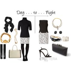 """""""Etcetera: Holiday Day to Night"""" by etcetera-nyc on Polyvore"""