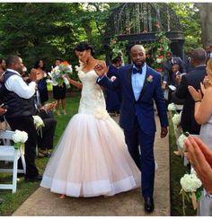 Nigerian wedding real couple wedding day style 21