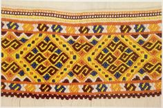 Traditional Slovak folk embroidery is a part of Slavic heritage and culture and now I would like to show you few examples, also you can read on the Slovak embroidery. Textiles, Folk Dance, Folk Embroidery, Folk Costume, Bohemian Rug, Traditional, European Countries, Patterns, Czech Republic