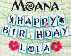 Moana party moana decorations moana birthday party moana