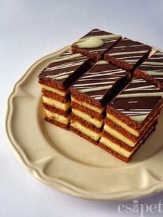 Hungarian Cookies, Hungarian Desserts, Hungarian Cake, Hungarian Recipes, Hungarian Food, Sweets Recipes, Cooking Recipes, Sweet Cookies, Cake Bars