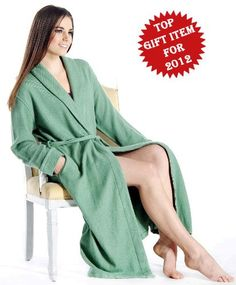 Pure Cashmere Robe for Women $279.00