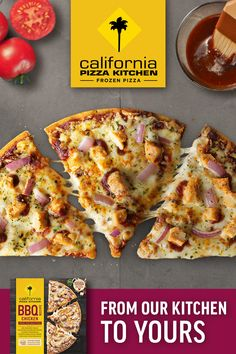 It's time to try California Pizza Kitchen's beloved BBQ Recipe Chicken Frozen Pizza 🍕! Topped with BBQ-seasoned grilled white-meat chicken, red onions & cilantro, mozzarella & hickory smoked gouda cheese, and sweet & tangy BBQ sauce, you'll love this recipe from our kitchen to yours. Head to the frozen pizza aisle today and do dinner with CPK way 😎 Recipe Chicken, Chicken Recipes, Smoked Gouda Cheese, California Pizza Kitchen, Frozen Pizza, Cauliflower Crust Pizza, Chicken Pizza, Meat Chickens, White Meat