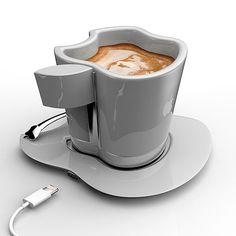 Apple iCup, una taza de café inspirada en la famosa manzana