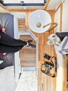 Rent a motorhome Bolle in Hamburg – Sport Cars Camper Caravan, Camper Trailers, Camper Van, Under Cupboard Lighting, Cupboard Lights, Van Home, Mini Bus, Rv Rental, Campervan Interior