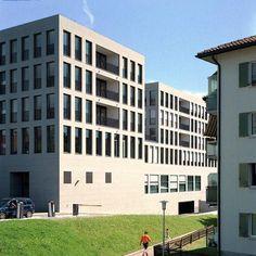 Max Dudler Architekt - Zentrum Kirchgasse Wetzikon