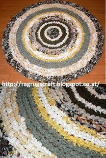 Die 134 Besten Bilder Von Crochet Rag Rugs Fabric Scraps With