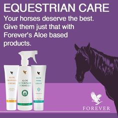 Find the Balance with Aloe that Matters http://wu.to/jAlEdS #horse