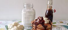 Una mezcla para tener lista cada vez que te entre la angurria de dulce, sin ingredientes ignotos ni guarrerías. Y para acompañar, chocolate.