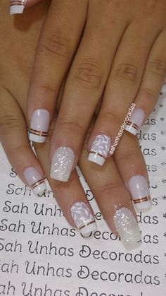 Deep french nails Side Braids # side Braids with flowers - Deep . - Deep french nails Side Braids # side Braids with flowers – Deep french nail - Classy Nails, Cute Nails, Pretty Nails, My Nails, Square Nail Designs, Nail Art Designs, Nails Design, Bride Nails, Wedding Nails