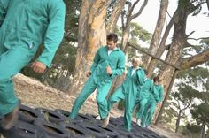 Obstacle Course Ideas for Adults