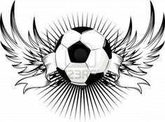 Soccer Tattoo with banner